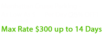 manhattan cruise parking special